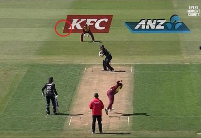 Is this the worst ball ever bowled in international cricket?