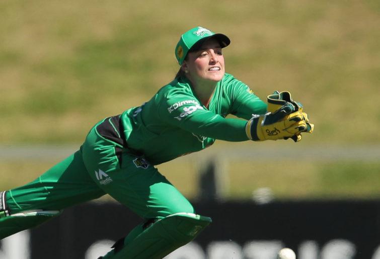 WBBL Melbourne Stars wicketkeeper Nicole Faltum