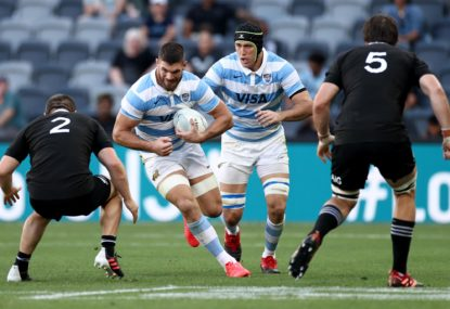 All Blacks anxious as Pumas play for Diego