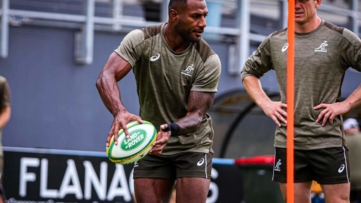 Suliasi Vunivalu ruled out of France series with hamstring injury