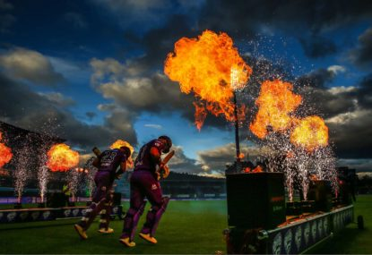 What is more important to the fan, internationals or the Big Bash?