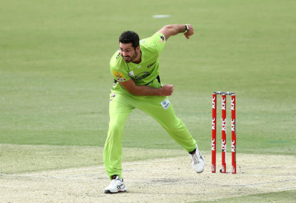 Sydney Thunder vs Adelaide Strikers: BBL cricket live scores