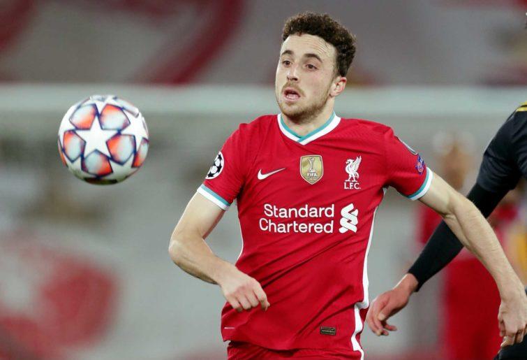 Diogo Jota of Liverpool