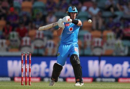 Adelaide Strikers vs Sydney Thunder: BBL cricket live scores