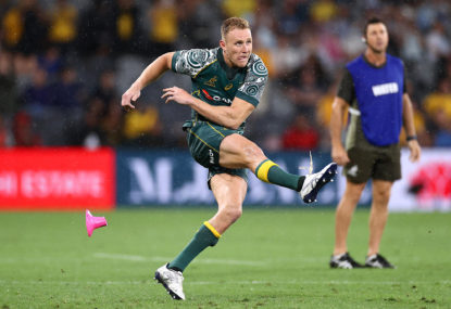 A 'take the three points' model for the Wallabies is available