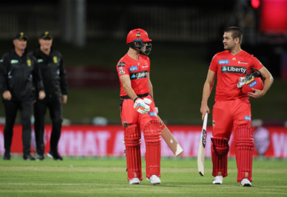 Melbourne Renegades vs Hobart Hurricanes: BBL cricket live scores