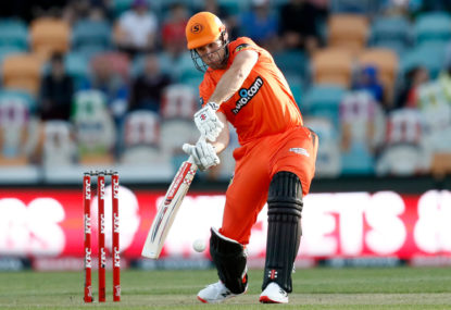Scorchers down Strikers for win