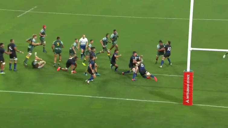 Pumas defence vs Wallabies