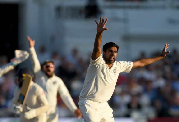 India bowler Ravi Ashwin