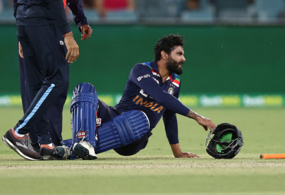 India's concussion loophole sets dangerous precedent as Australia crumble in first T20