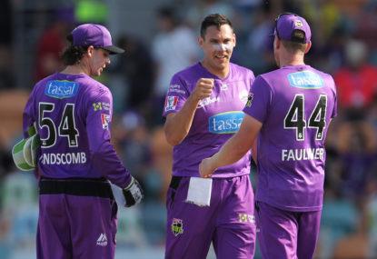 Hobart Hurricanes vs Brisbane Heat: BBL cricket live scores