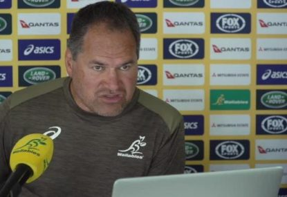 Wallabies coach has confidence in debutants as injuries play havoc