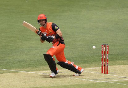 Liam Livingstone clears mind for Scorchers' run