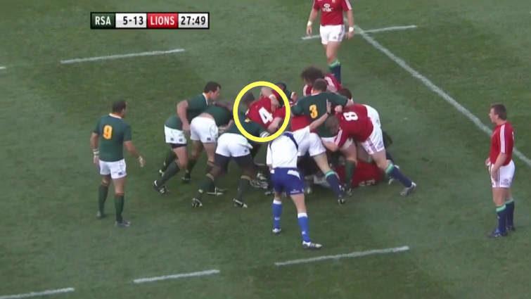springboks vs lions maul 2009