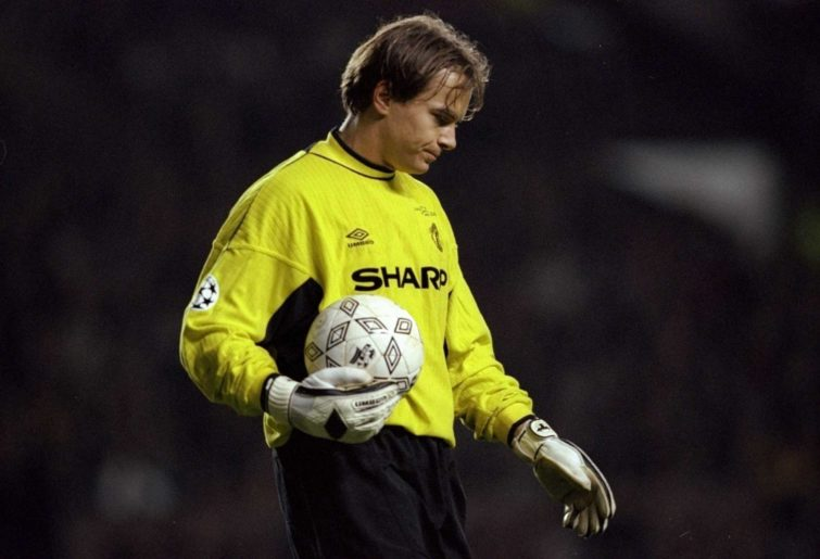 Mark Bosnich of Manchester United