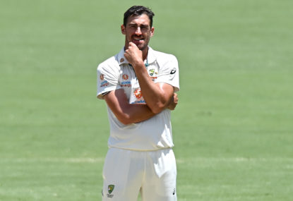 Starc's Sheffield Shield flop puts Ashes spot at risk