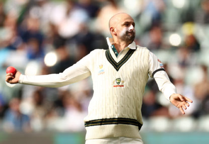 Exhausted Nathan Lyon bounces back in Shield game