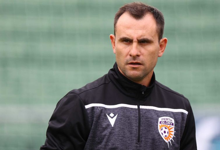 Richard Garcia, head coach of the Glory