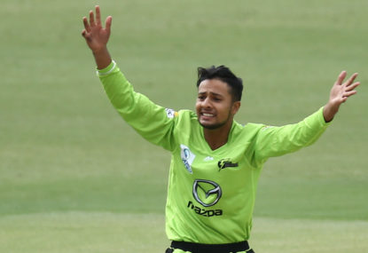 Tanveer Sangha and Wes Agar are in my Aussie T20I squad for NZ tour