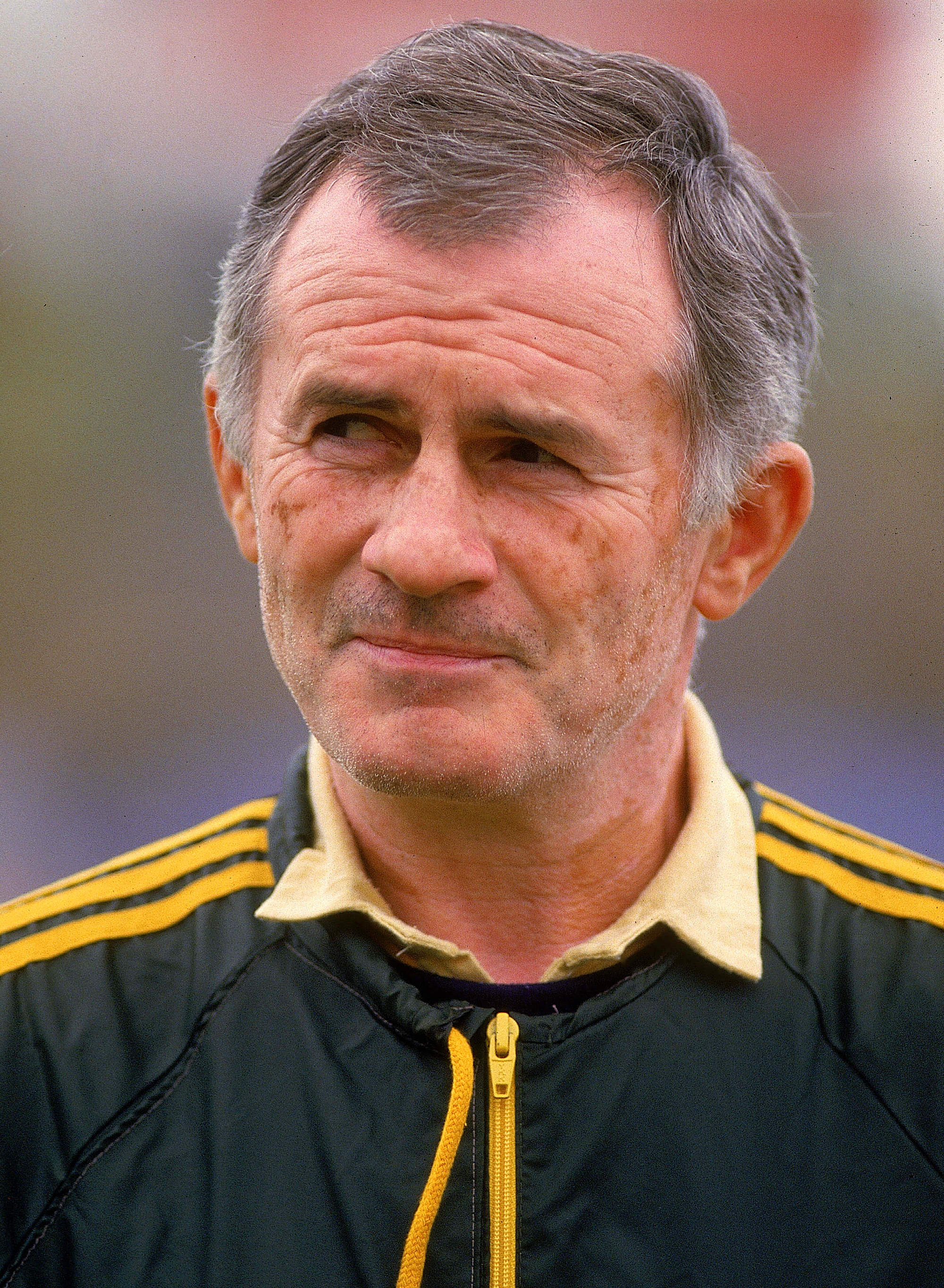 Frank Arok, coach of the Australian Socceroos