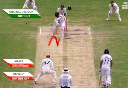 The GOAT denied by the barest of DRS margins