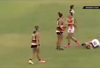 Is this incident really worth the AFLW's longest-ever suspension?