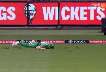 How the dodgy Marvel Stadium turf helped the Renegades pull off a stunning BBL heist