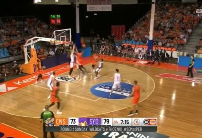 Is this the best dunk in the history of the NBL?