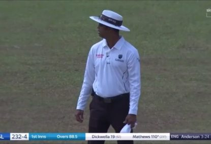 Sri Lanka-England third umpire avoids making all-time howler by the skin of his teeth
