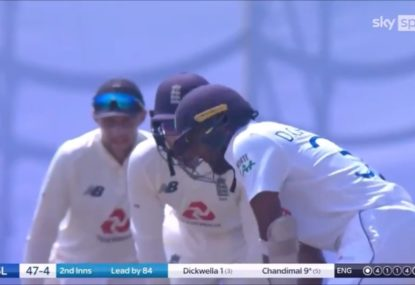 Joe Root's cheeky sledge for Sri Lankan skipper takes 3 seconds to work perfectly
