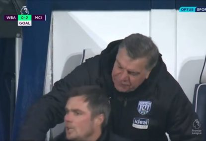 West Brom break Rule #1 of football with disastrous results