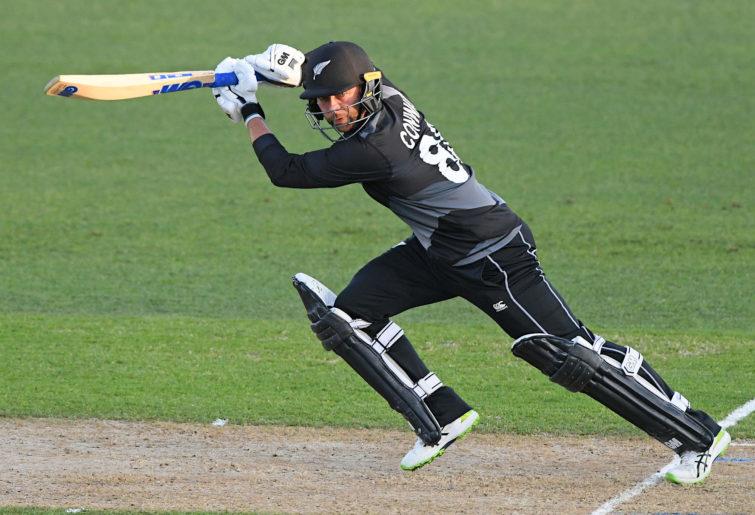 Devon Conway of New Zealand.