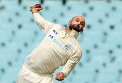 Nathan Lyon finally finds form, but Victoria's fringe players make Sheffield Shield statement