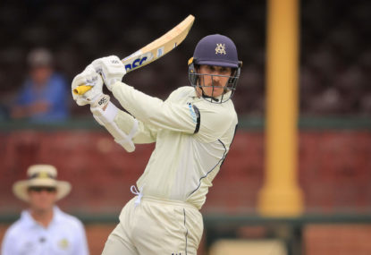 Nic Maddinson and the curse of premature selection