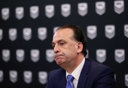 Flying kites about a 'Sydney conference' makes the NRL look idiotic
