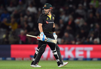When does Aaron Finch's form become a World Cup worry?
