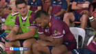 Tongan Thor caught by cameras doing disgusting things on Reds bench