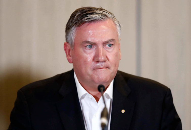 Collingwood President Eddie McGuire