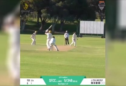 Cameron Green dominates WA premier cricket with unbeaten double-ton