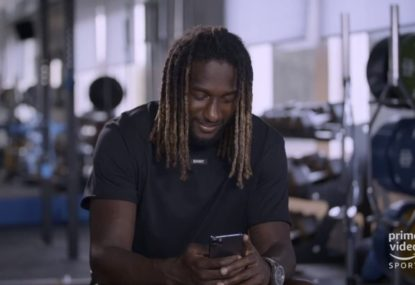What Nic Naitanui really thought of Adelaide player's accidental tweet calling him lazy