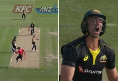 Did this moment cost Australia victory against New Zealand?