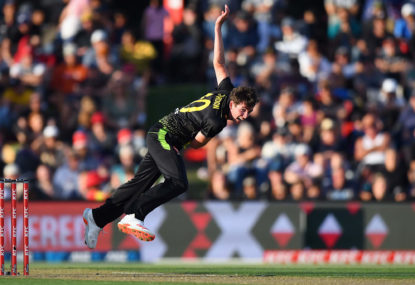 Australia's death bowling being tested by Kiwis