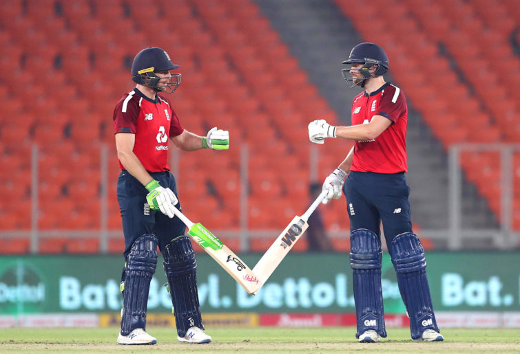 Jos Buttler and Dawid Malan.
