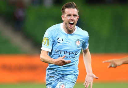 Perth Glory vs Melbourne City FC: A-League live scores