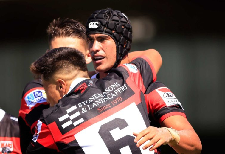 Rooster Joseph Suaalii playing with the North Sydney Bears