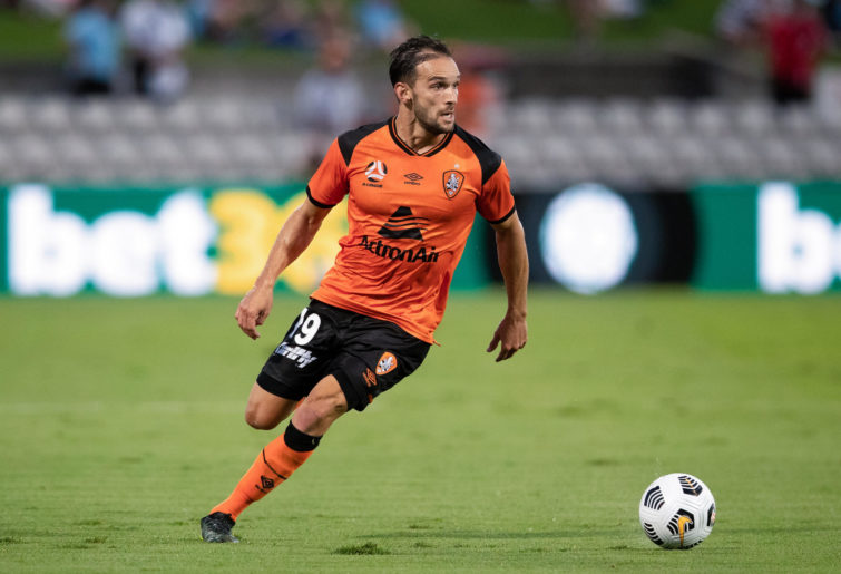 Jack Hingert of Brisbane Roar