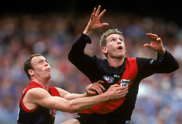 Essendon's class of 2000 are the best AFL team of the modern era