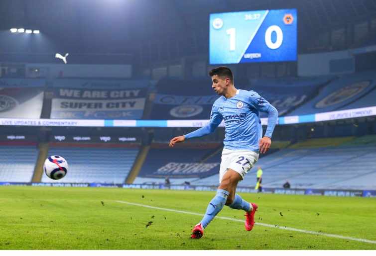 Joao Cancelo of Manchester City.