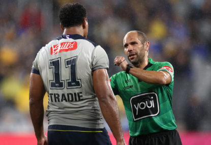 Two elbows, two outcomes: The NRL's priorities are stuffed