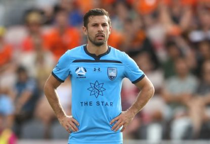 For how long can Sydney FC carry Kosta Barbarouses?